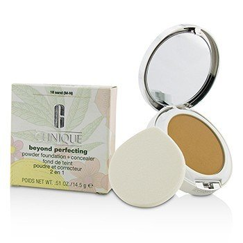 Clinique Beyond Perfecting Base en Polvo + Corrector - # 18 Sand (M-N)