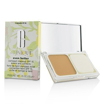 Clinique Even Better Maquillaje Compacto SPF 15 - # 02 Alabaster (VF-N)