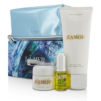 La Mer - The Essence (Limited Edition) - 3x15ml DeVita, Perfecting Time, Age Defying Moisturizer with Argireline, 2.5 oz (pack of 2)