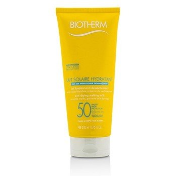 Biotherm Lait Solaire Hydratant Leche Anti-Secante SPF 50 - For Face & Body