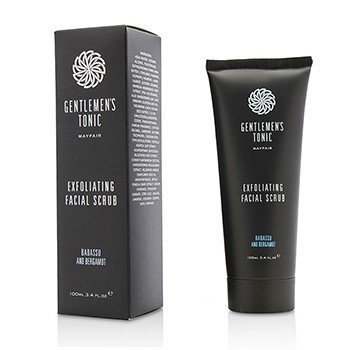 Gentlemens Tonic Babassu And Bergamot Exfoliating Facial
