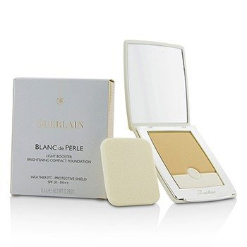 Guerlain Blanc De Perle Light Booster Brightening Compact Foundation SPF 20 - # 02 Beige Clair