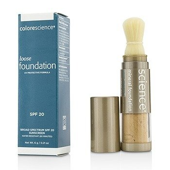 Colorescience Brocha de Base Mineral Suelta SPF20 - Tan Natural