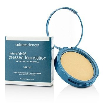 Colorescience Base Compacta Acabado Natural de Espectro Amplio SPF 20 - # Light Ivory