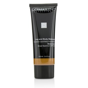 Dermablend Leg and Body Make Up Buildable Liquid Body Foundation Sunscreen Broad Spectrum SPF 25 - #Deep Golden 70W