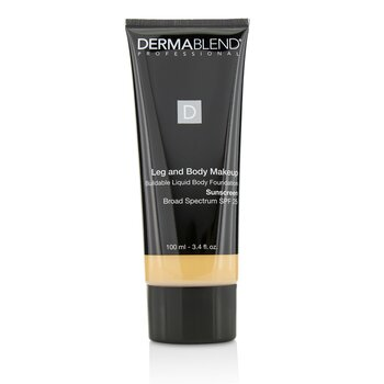 Dermablend Leg and Body Make Up Buildable Liquid Body Foundation Sunscreen Broad Spectrum SPF 25 - #Light Natural 20N
