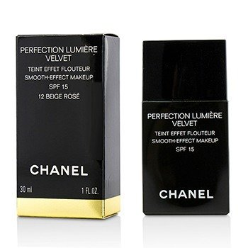 Chanel Perfection Lumiere Velvet Maquillaje Efecto Suave SPF15 - # 12 Beige Rose