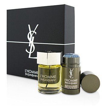 Yves Saint Laurent LHomme Coffret: Eau De Toilette Spray 100ml + Desodorante en Barra 75g