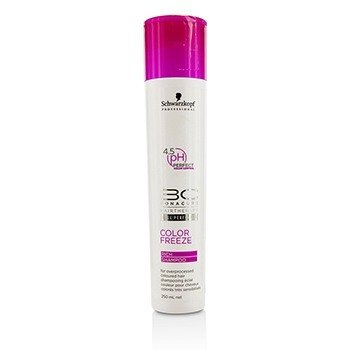 Schwarzkopf BC Color Freeze Rich Shampoo - For Overprocessed Coloured Hair (Cap Slightly Damaged)
