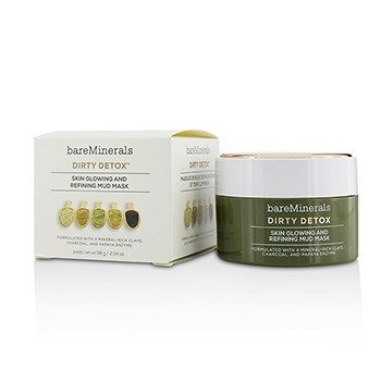 BareMinerals Dirty Detox Skin Glowing and Refining Mascarilla de Lodo