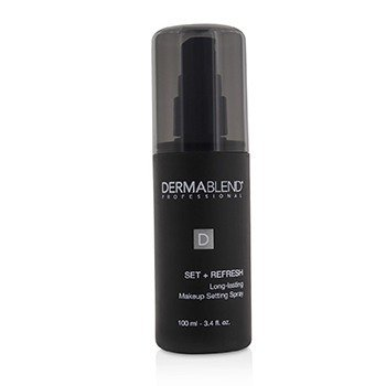Dermablend Set + Refresh Spray Ajustador de Maquillaje de Larga Duración
