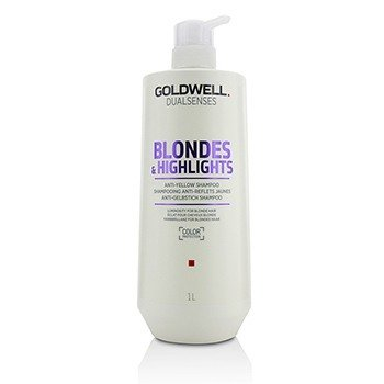 Goldwell Dual Senses Blondes & Highlights Champú Anti-Amarillo (Luminosidad Para Cabello Rubio)