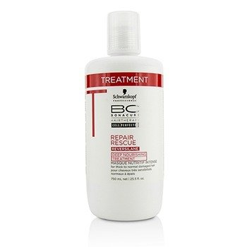 Schwarzkopf BC Repair Rescue Reversilane Deep Nourishing Treatment (For Thick to Normal Damaged Hair)