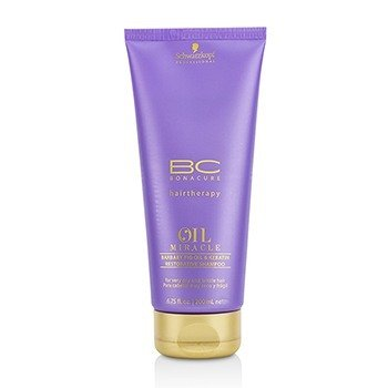 Schwarzkopf BC Oil Miracle Barbary Fig Oil & Keratin Restorative Shampoo (For Very Dry and Brittle Hair)