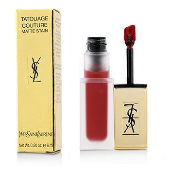 Yves Saint Laurent Tatouage Couture Mancha Mate - # 10 Carmin Statement