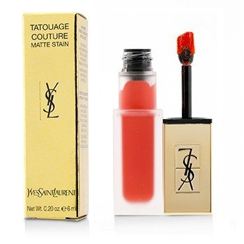 Yves Saint Laurent Tatouage Couture Mancha Mate - # True Orange