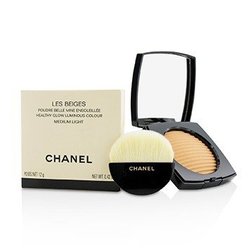 Chanel Les Beiges Color de Luminoso Brillo Saludable - # Medium Light