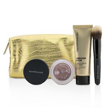 BareMinerals Set Take Me With You Complexion Rescue Try Me - # 09 Chestnut