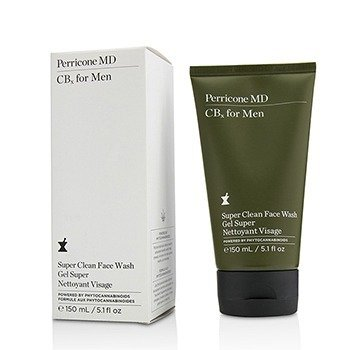 Perricone MD CBx For Men Super Clean Jabón Facial