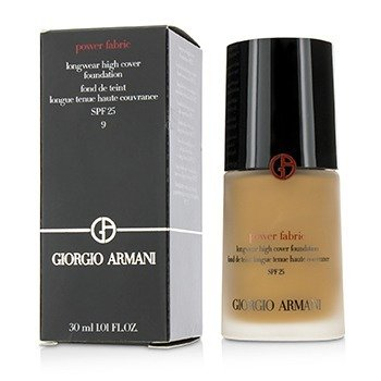 Giorgio Armani Power Fabric Longwear High Cover Foundation SPF 25 - # 9 (Tan, Rosy)