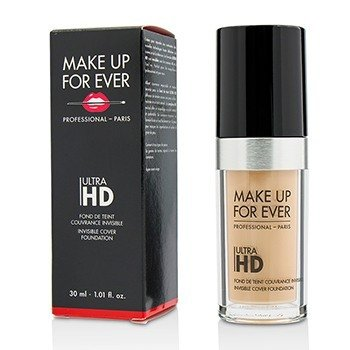 Make Up For Ever Base Cobertora Invisible Ultra HD - # R230 (Ivory)