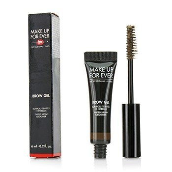 Make Up For Ever Brow Gel Tinted Brow Groomer - # 35 (Medium Brown)