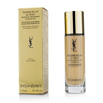 Yves Saint Laurent Touche Eclat Le Teint Radiance Awakening Base SPF22 - #BR40 Cool Sand