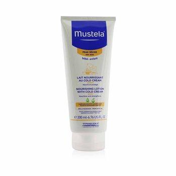 Nourishing Body Lotion With Cold Cream - For Dry Skin
