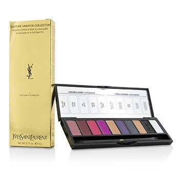 Yves Saint Laurent Couture Variation Collector Paleta de Labios & Ojos de 10 Colores - # 5 Nothing Is Forbidden