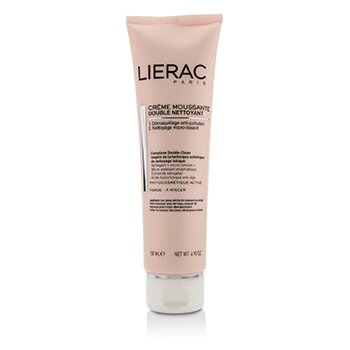 Lierac Double Nettoyant Creme Moussante Foaming Cream Double Cleanser