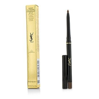 Yves Saint Laurent Dessin Du Regard Waterproof Stylo Long Wear Precise Eyeliner - # 2 Brun Possession