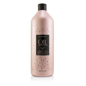 Matrix Oil Wonders Volume Rose Champú (Para Cabello Fino)