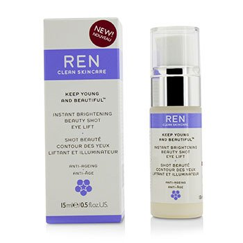 Ren Keep Young And Beautiful Instant Brightening Beauty Shot Levante de Ojos