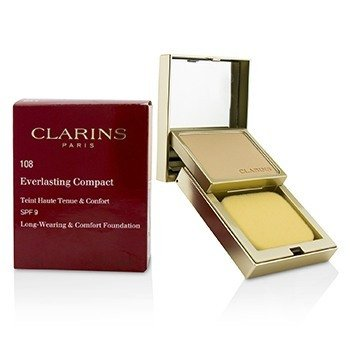 Clarins Everlasting Base Compacta SPF 9 - # 108 Sand