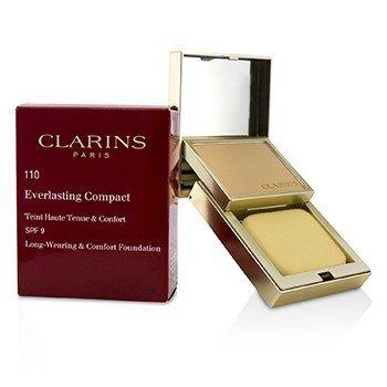 Clarins Everlasting Compact Foundation SPF 9 - # 110 Honey