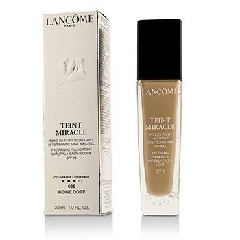 Lancome Teint Miracle Base Natural Hidratante Look Saludable SPF 15 - # 035 Beige Dore