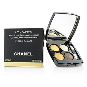 Chanel Les 4 Ombres Quadra Eye Shadow - No. 274 Code Elegants