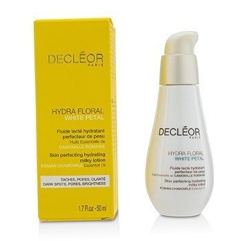 Decleor Hydra Floral White Petal Roman Chamomile Skin Perfecting Hydrating Milky Lotion