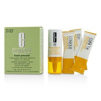 Fresh Pressed 7-Day System with Pure Vitamin C (1x Daily Booster 8.5ml + 7x Renewing Powder Cleanser 0.5g)