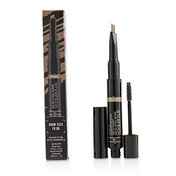 Smashbox Brow Tech To Go (Gel 2.9g + Pencil 0.2g) - Blonde