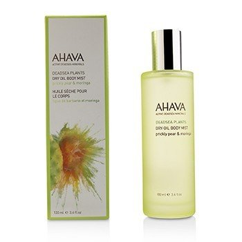 Ahava Deadsea Plants Dry Oil Body Mist - Prickly Pear & Moringa