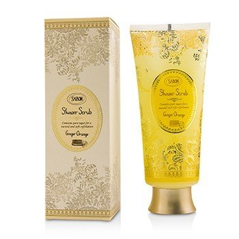 Sabon Exfoliante de Ducha - Ginger Orange