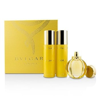 Bvlgari Goldea Coffret: Eau De Parfum Spray 50ml + Leche Corporal 200ml + Gel de Baño & Ducha 200ml