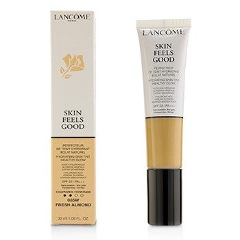 Lancome Skin Feels Good Tinte Hidratante de Piel Brillo Saludable SPF 23 - # 035W Fresh Almond