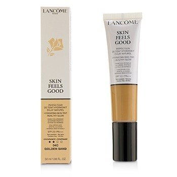 Lancome Skin Feels Good Tinte Hidratante de Piel Brillo Saludable SPF 23 - # 04C Golden Sand