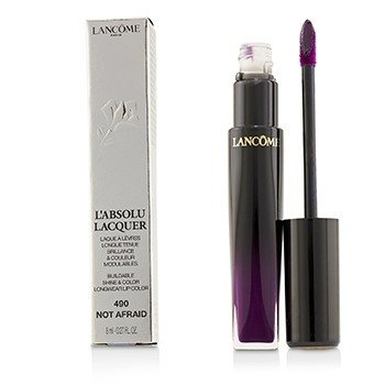 Lancome LAbsolu Lacquer Brillo & Color Edificables Longwear Color de Labios - # 490 Not Afraid