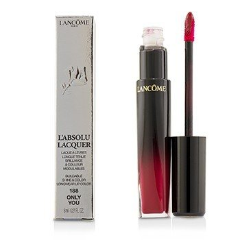 Lancome LAbsolu Lacquer Brillo & Color Edificables Longwear Color de Labios - # 188 Only You