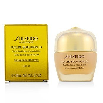 Shiseido Future Solution LX Base Resplandor Total SPF15 - # Golden 3