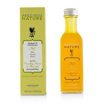AlfaParf Precious Nature Todays Special Oil with Prickly Pear & Orange (Long & Straight Hair)
