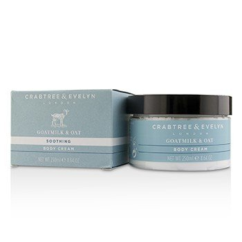 Crabtree & Evelyn Goatmilk & Oat Soothing Body Cream